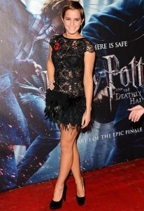 Emma Watson at Harry Potter event