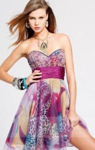 Print Party Dress
