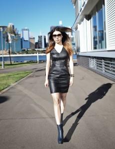 Black-Leather-Dress