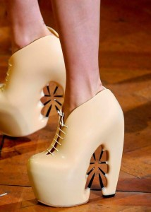 Iris Van Herpen Couture Shoes