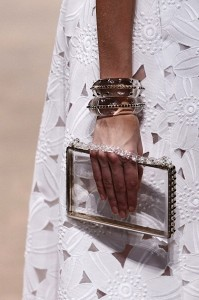 Valentino Clear Clutch