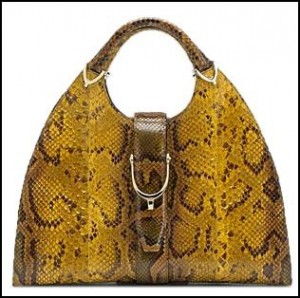 Gucci animal print bag