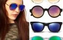 Mirrored sunglasses in colour