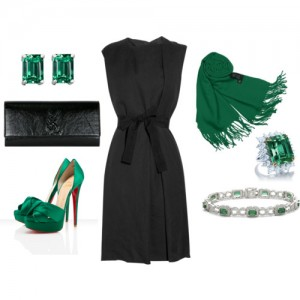 Emerald Green Accessories