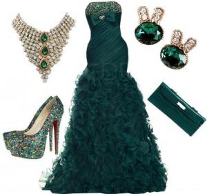 Emerald Green Total Look