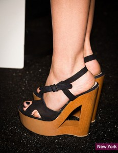 Cut-out wedges