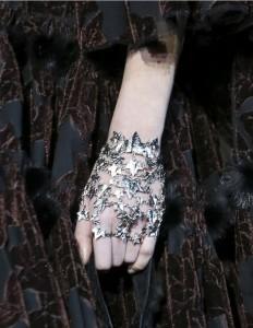 Hand bracelets from Alexander McQueen