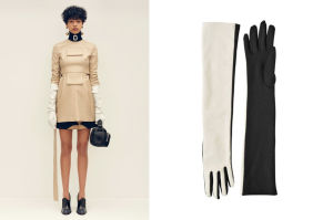 Long gloves will be in vogue
