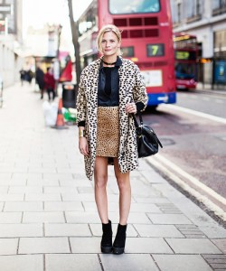 Play with two animal prints