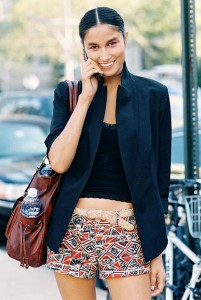 Wear with a cropped top