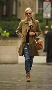 A long coat