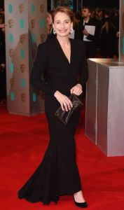 Kristin Scott Thomas in Balmain haute couture