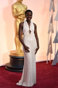 Lupita Nyongo in Francisco Costa