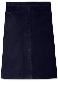 An A-line skirt