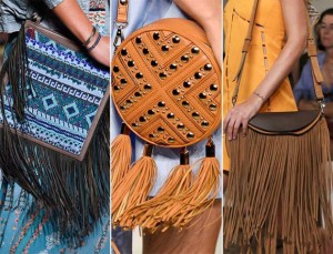 Get Stylish Fringed Bag