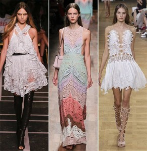 Be Elegant with Lace Dresses