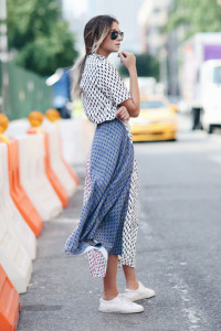 Silk Mid Length Shirtdresses