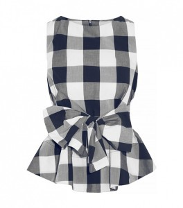 Style with gingham print