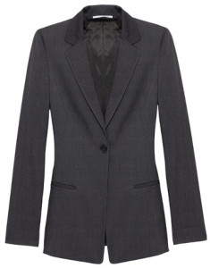 Accentuate your office look with a shiny and shapely blazer