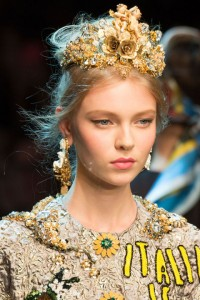 Head jewellery is bang on