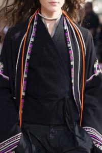 The new silk scarf