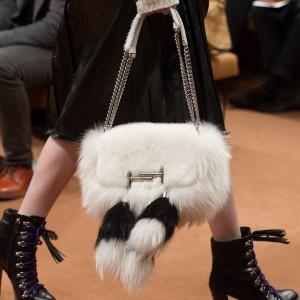 Fur handbags